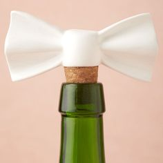 Bow wine stopper! I need this!