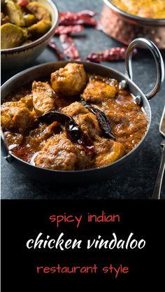 Find out about indian cuisine vegan. Indian Food Recipes, Asian Recipes, Healthy Recipes, Chicken Vindaloo, Chicken Curry, Comida India, Bengali Food, Iranian Food, Tandoori Masala