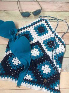 Del ganchillo del algodón ropa de playa verano encaje Top