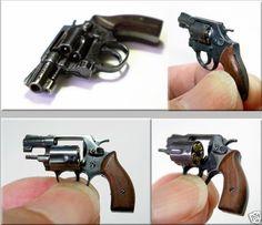 1//6 set of steampunk 2 pistol-guns unpainted