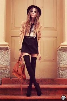 vestido|dress: Antix    blazer: Brechó da Neide    bracelets: Kafé    chapéu|hat: Romwe    sapato|shoes: Asos