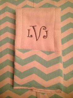 Custom burp cloth