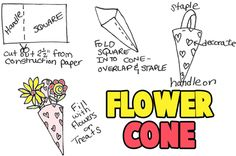 Flower Cones to Make