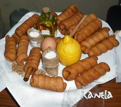 GAÑOTES Churros, Waffles, Sausage, Cooking Recipes, Cheese, Meat, Breakfast, Desserts, Food