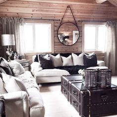 Cabin with furnitures from tm design