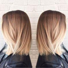 Balayage Short Hair Blonde 2018-2019