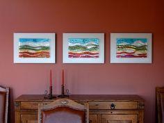 Triptych Glass Wall Art Panels