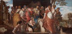 The Anointment of David / La unción de David // ca. 1555 // Paolo Caliari, called Veronese // Kunsthistorisches Museum Wien // #David #Samuel #Jesse #Saul #Bible #OldTestament