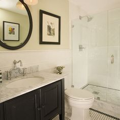 Elegant Small Bathroom Inspiration On Pinterest Small Full. How ... Great Pictures