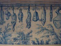 Museu Nacional do Azulejo - 19th century kithen tiles
