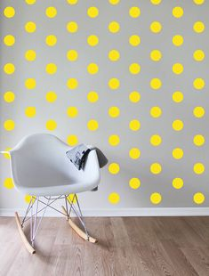 UNA CAMERETTA A POIS - Design Therapy Interior Design Color Schemes, Colorful Interior Design, Furniture Upholstery, Kids Furniture, Yellow Living Room Furniture, Pastel Room, Neon Room, Bright Rooms, Modern Wall Decor
