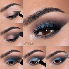 16 Must-See Eye Makeup Pictorials #maryammquillage