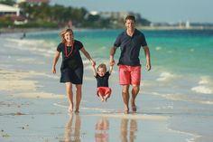 Zoe family portrait Puerto Morelos Cancun