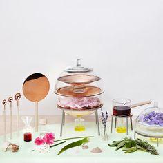 The Alchemist's Dressing Table by Lauren Davies //