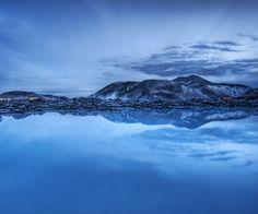 The Milky Blue Lagoon