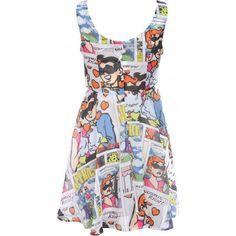Joyrich | Joyrich Comic Adventure Afternoon Top Dress at Spoiled Brat by None, http://www.frugalflirtynfab.com/2013/09/polka-pointy-kicks-of-day.html