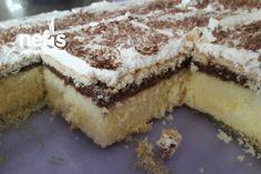 Pasta Tadında Kek Tarifi nasıl yapılır? 5.085 kişinin defterindeki Pasta Tadında Kek Tarifi'nin detaylı anlatımı ve deneyenlerin fotoğrafları burada. Best Cake Recipes, Best Dinner Recipes, Yummy Recipes, Cake Tasting, Cake Flavors, Turkish Recipes, Cake Shop, Dessert Bars, How To Make Cake