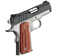 Kimber 1911 Ultra Aegis II - A true concealed carry pistol with specialized features that ensure superior 9 mm performance.