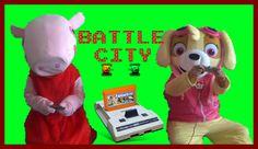 PEPPA PIG and SKYE Play in Dandy ⚫ Harley Quinn Prevents Passing Game Ba...