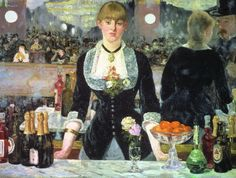 El bar de Folies Bergere  Edouard Manet. 1882.   Impresionismo
