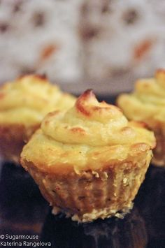 Salty cupcakes - mini shepherd's pies