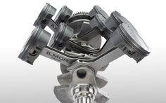 Ilmor MV8 7.4L Crank Rod Piston