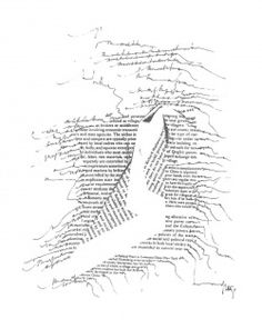 Albers Anni nd Typewriter Studies - Women in concrete poetry - Monoskop Poesia Visual, Scribble Art, Aesthetic Words, Book Layout, Book Projects, Poetry Lines, Environmental Art, Publication Design