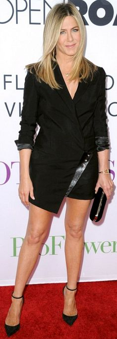 Jennifer Aniston in Armani