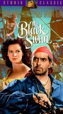 The Black Swan Another fun Pirate movies and Tyrone Power oozes charisma. Tyrone Power, The Black Swan, Old Movies, Vintage Movies, Great Movies, Famous Movies, Pirate Movies, Maureen O'hara, Cinema