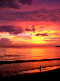 *Sigh* I miss this. [sunset in the Philippines]