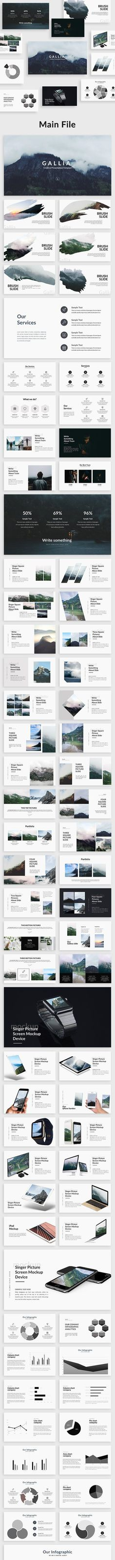 Buy Gallia - Creative Powerpoint Template UPDATE VERSION by bypaintdesign on GraphicRiver. Gallia Version (Apr We added amazing slides Gallia Version (Jun We added . Presentation Design, Presentation Templates, Broken Images, Creative Powerpoint Templates, Creative Visualization, Infographic, Data Charts, Graphic Design, Infographics