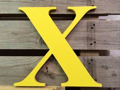 Letter X  Large wooden  24 distressed edges by ASimplePlaceOnMain
