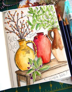 Like the idea....drawing from catalogs.