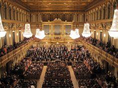 The Großer Musikvereinssaal in Vienna, Austria