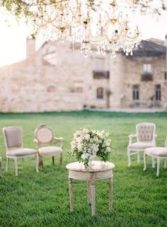 Sunstone Villa Wedding via Jose Villa wedding photography Wedding Shoot, Dream Wedding, Wedding Gowns, Farm Wedding, Luxury Wedding, Wedding Bride, Wedding Reception, Wedding Furniture, Vintage Furniture