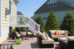 Outdoor space designed by @TheWordGroupInc, thewordgroupinc.com #landscapedesign #outdoorroom #patio