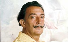Salvador Dali sold blade of grass to Yoko Ono for $10,000  | mustache and beard research
