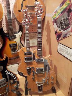 Harvey double-neck guitar (1957)