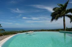 City: Las Terrenas  Country: Dominican Republic  Price: $ 595,000  Beds: 2  Baths: 2  Floors: 2  Square Feet: 3,015  Lot Size: 10,000 m2  This property is situated in the hills above Las Terrenas on the Samaná peninsula and provides a spectacular 360º view:  In the northern half you see the Atlantic Ocean merging with the horizon (a line of about 220 km from Cabrera to Cabo Cabrón).  http://www.dr-luxuryrealestate.com/listing-v-019-villa-with-ocean-view-las-terrenas-42.html