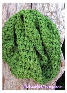 Chunky Bricks and Bobbles Cowl Circular | The Crochet Lounge™ | Free Pattern