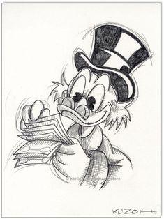 Tattoo disney mickey donald duck 44 Ideas for 2019 Disney Sketches, Disney Drawings, Cartoon Drawings, Drawing Sketches, Drawing Disney, Drawing Ideas, Chalk Drawings, Pencil Drawings, Art Drawings