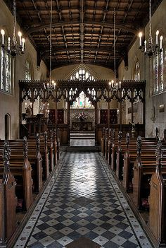 St Mary's Church, Sudeley Castle by be4ch, via Flickr
