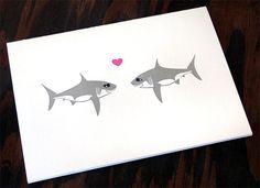 sharks need love too - Etsy