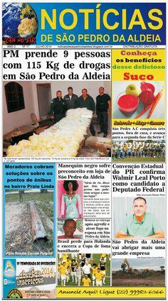 Notícias de São Pedro da Aldeia: JORNAL NOTÍCIAS DE SÃO PEDRO DA ALDEIA EDIÇÃO DE J...