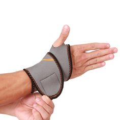 1Pair Adjustable Wrist Brace Support Wrap For Power Weight Lifting Sport Fitness #iDit