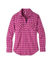 Women's Peaks Flannel Shirt #Flannel #WomensFashion #WomensShirt #WoolBlend