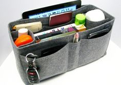 Like large handbags? Pop an insert in it to tidy it all up!