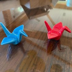 We just added blue and red crane chopstick rests hashioki to our gift shop Anniversary Getaways, Chopstick Rest, Clark Art, Crane, Goodies, Boutique, Cool Stuff, Red, Gifts