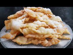Jak zrobić łatwe faworki bez ubijania, bez spulchniaczy | Słodki Blog - YouTube Sweet Bakery, Cake Youtube, Sweets Cake, Macaroni And Cheese, Fries, Dessert Recipes, Make It Yourself, Cooking, Ethnic Recipes
