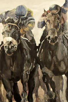 Two Jockeys Front, 1987 at the Virginia Museum of Fine Arts